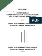 PROPOSAL Pembangunan Pembangkit Listrik...