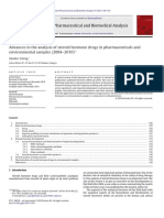 Journal of Pharmaceutical and Biomedical Analysis Volume 55 Issue 4 2011 [Doi 10.1016%2Fj.jpba.2010.11.011] Sándor Görög -- Advances in the Analysis of Steroid Hormone Drugs in Pharmaceuticals and Env