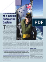 Reflections of a Collins Submarine Captain