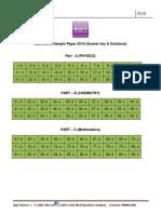 JEE Main 8-4-2017 Mathematics