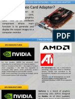 4. Types of Video Card