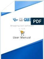 Cscart User Manual 1 3 5