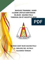 (Tor) in House Training Hh Tgl 06-8-2018 Dan 7-8-2018