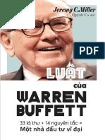 Luat Cua Warren Buffett Jeremy c Miller