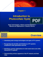 Introduction to PV systems