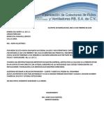 Carta Aclaratoria Unidad Hercules