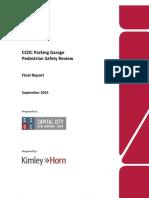 Document J2 CCDC Garage Pedestrian Safety Report