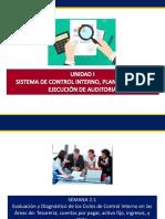 Evaluación y Diagnóstico de los Ciclos de Control Interno en las Áreas de