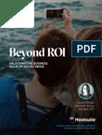 Altimeter Hootsuite Beyond ROI FINALv2
