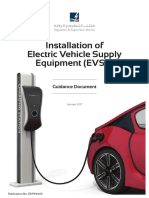 Installation of Electric Vehicle Supply Equipement - Guidance Document