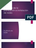 Auditoria de La Planeación e Instalación de Redes