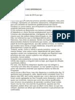 A Compreensão Das Diferenças (Luiz Guilherme Marques)