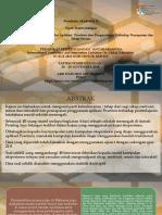 Penulisan Akademik II Presentation