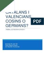 Catalans i Valencians, Cosins o Germans