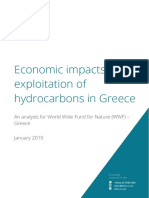 Economic Impacts of the Exploitation of Hydrocarbons in Greece