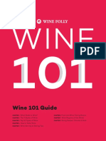 Wine 101 guide