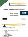 Release 12 Financials Best Practices 1227