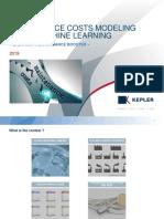 Maintenance Costs Modeling Using Machine Learning-KEPLER