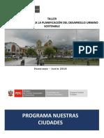 Gestión Urbana Para La Planificación Del Desarrollo Urbano Sostenible
