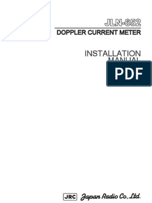 JLN-652 installation manual pdf | Computer Monitor