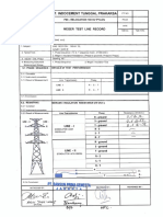 60. Field Test Procedure and Record 500 Mva Transformer Part-1