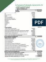 Informe Financiero ANPA, Diciembre 2018