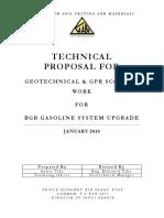 Technical Proposal - BGB Gasoline Upgrade System - Bapco
