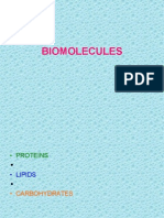 Bio Molecules Summary[1]