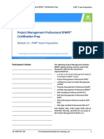 m12 Pmcert on-Demand Pmp Exam Prep Final