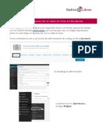 Reproductor Streaming en Wordpress
