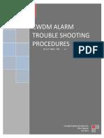 CWDM Troubleshooting Procedures