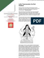 Lalita Tripurasundari The ..