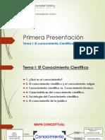 01 Primera Presentació n Tema i