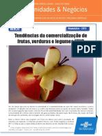 tendencias de comercialização de frutas, verduras e legumes
