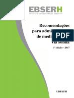 Anexo Resolução 82 - Guia Para Administração de Medicamentos via Sonda