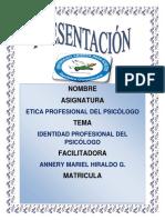 TAREA 3 ETICA PROFECIONAL DEL PSICOLOGO.docx