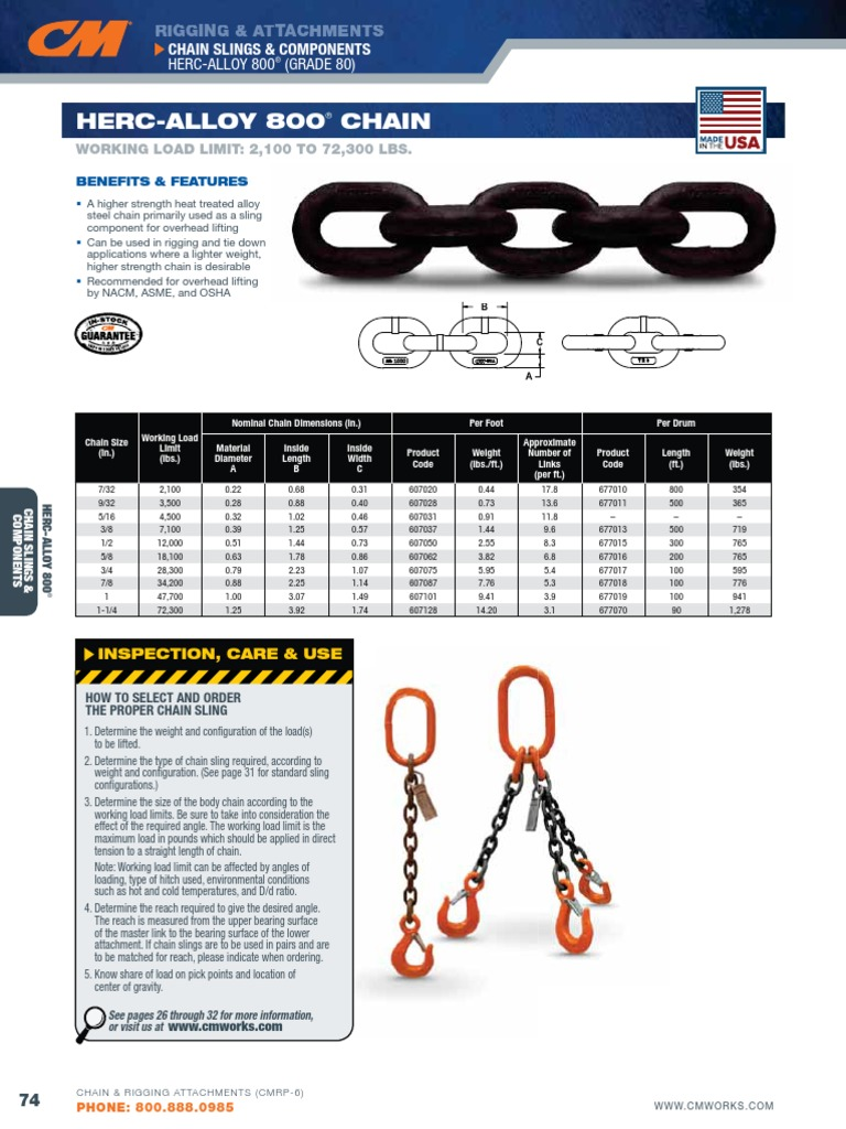 9//32 4,300 lb Work Load Limit CM 458622 Eye Sling Hook without Dual Rated Latch for Use with HA800 or HA1000
