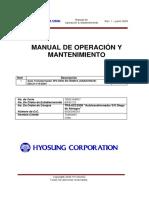 Manual Autotransformador 90-120MVA 220 115 25kV HYOSUNG