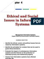 Ethical and Social Issues in Information Systems