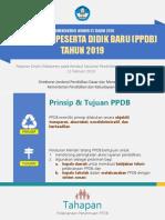 Kebijakan PPDB Tahun 2019