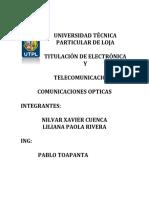 Expo Comunicaciones Opticas