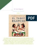 El Tarot Egipcio – Margarita Arnal Moscardo – Obelisco