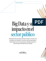 Big Data y Su Impacto en El Sector Publico
