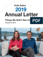 The Bill & Melinda Gates Foundation 2019 annual letter