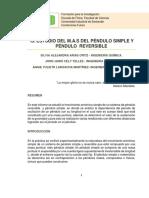 Informe i3 Estudio m.a.s. en Pendulos