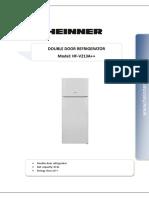 Frigider 2 usi Heinner A++