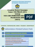 Slide PMK 190 Materi I