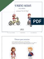 Un Nuevo Hogar por Tania de Regil Spanish Activity Sheets