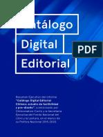 Catálogo Digital Editorial
