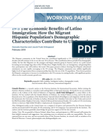 The Economic Benefits of Latino Immigration